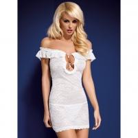 Suknelė Rebeka (balta) S/M
