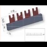 Šukos automatiams jungikliams., 1P, 54mod., U-formos, 12mm2, ETI 02921026 Šukos automatiniams jungikliams