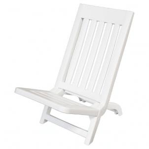 Sulankstoma paplūdimio kėdė Sammy (balta) Lauko kėdės