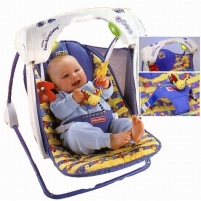 Sulankstoma supynė-kėdutė Fisher Price C5858 Delux Take Along Swing Citas preces mazuļiem