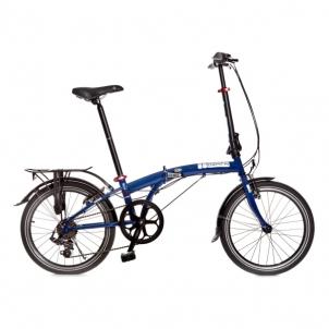Sulankstomas dviratis SUV D6 YS7102 HiTen dark blue 20 Sulankstomi dviračiai