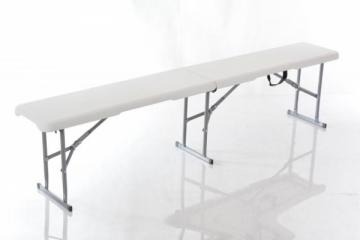 Sulankstomas lauko suolas, 183x30 cm Touring furniture