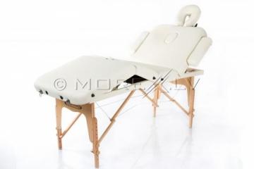 Sulankstomas masažo stalas Restpro Vip 4 Cream Masāžas mēbeles