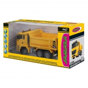 Sunkvežimis su pulteliu Dump Truck 1:20 Mercedes Arocs 2.4GHZ RC automobiliai vaikams