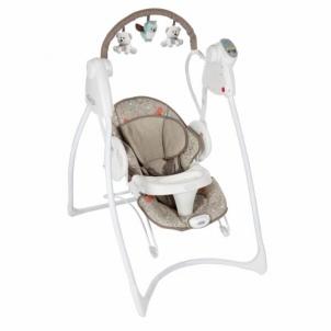 Sūpuoklės GRACO Swing N Bounce (Woodland Walk) Vaikiški baldai, maitinimo kėdutės
