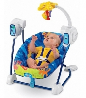 Supynės kėdutė Fisher Price T2068 Ocean Wonders Space Saver Citas preces mazuļiem