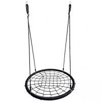 Sūpynės tinklelis EcoTOYS Black (100cm, iki 150kg) Šūpoles, krēsli