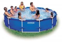 Surenkamas baseinas INTEX 457x84 cm Lauko baseinai
