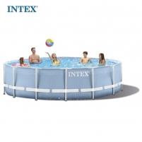 Surenkamas baseinas INTEX Prisma 457x84 cm Lauko baseinai