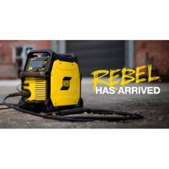semiautomatic welding ESAB REBEL EMP 215ic Welding apparatus