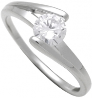 Engagement ring Brilio Silver Silver engagement ring 7111048 Engagement rings