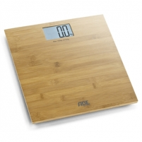 Svarstyklės ADE Bathroom Scale BE 925 MARTINA Maximum weight (capacity) 150 kg, Accuracy 100 g, Multiple user(s), Bamboo wood Household scales