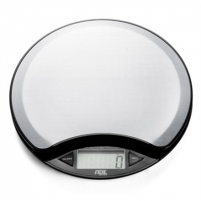 Svarstyklės ADE Kitchen Scale KE 854 ANJA Maximum weight (capacity) 5 kg, Graduation 1 g, Display type LCD, Silver Household scales