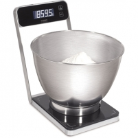 Svarstyklės Caso Kitchen scale B5 03290 Maximum weight (capacity) 5 kg, Graduation 0.5 g, Black Household scales