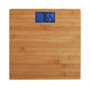 Svarstyklės DomoClip DomoClip DOM306 Maksimalus svoris (talpa) 150 kg, Tikslumas 100 g, Wood texture Mājsaimniecības svari