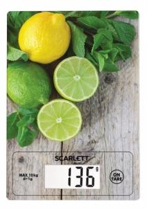 Svarstyklės Kitchen scale Scarlett SC-KS57P21