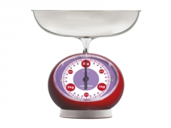 Svarstyklės ViceVersa Tix Scale 3kg red 14133 Household scales