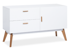 Chest of drawers for the living room Milan K2 Baldų kolekcija Scandinavian