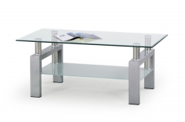 Svetainės Staliukas Diana (silver) Svetainės staliukai