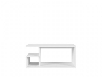 Svetainės staliukas GATO baltas Svetainės staliukai