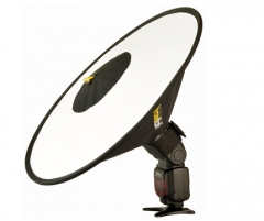 Šviesdėžė RoundFlash Dish Studijiniai priedai