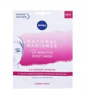 Šviesinanti kaukė Nivea Natural Radiance 10 Minutes Sheet 1vnt