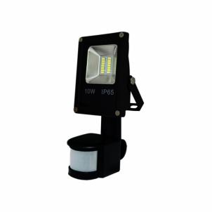 Šviestuvas ART External lamp LED 10W,SMD,IP65, AC80-265V,black, 6500K-CW