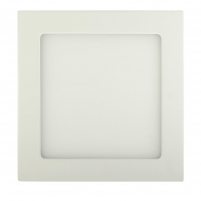 Šviestuvas ART LED on plaster panel, square, 12*3.5cm, 6W, WW 3000K