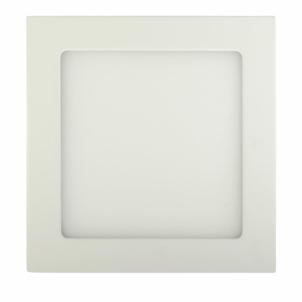Šviestuvas ART LED on plaster panel, square, 18*3.5cm, 12W, WW 3000K