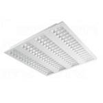 Šviestuvas LED, 50W, IP20, paviršinis, 5500lm, 4000k, 4x60mm, AC220-240V, ROMA, GTV LD-RO4060N-50