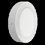 Šviestuvas LED 13W, IP20, 230V, paviršinis, apvalus, baltas, matinis, 1020lm, 4500K, ORIS, GTV LD-ORN13W-NB