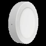 Šviestuvas LED 19W, IP20, 230V, paviršinis, apvalus, baltas, matinis, 1520lm, 4500K, ORIS, GTV LD-ORN19W-NB