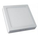 ŠŠviestuvas LED 19W, IP20, 230V, pavirššinis, kvadratinis, baltas, matinis, 1520lm, 4500K, MATIS, GTV LD-MAN19W-NB
