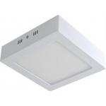 Šviestuvas LED 19W, IP20, paviršinis, apvalus, baltas, matinis, 1520lm, 3000K, d225x200mm, ORIS, GTV LD-ORN19W-CB Industrial light fixtures