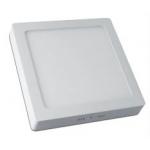 Šviestuvas LED 19W, IP20, paviršinis, kvadratinis, baltas, matinis, 1520lm, 3000K, d225x200mm, MATIS, GTV LD-MAN19W-CB Industrial light fixtures