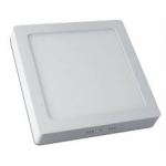 Šviestuvas LED 25W, IP20, paviršinis, kvadratinis, baltas, matinis, 2000lm, 3000K, d300x280mm, MATIS, GTV LD-MAN25W-CB Industrial light fixtures