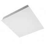 Šviestuvas LED 32W, IP54, įleidžiamas, baltas, matinis stiklis, 4200lm(131lm/1W), 4000K, 60x60cm, su integruotu LED, IB, MODUS IBP4000A4KO600ND