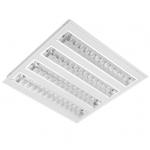 Šviestuvas LED 39W, IP20, įleidžiamas, baltas, 3900lm(100lm/1W), 4000K, 60x60cm, su integruotu LED, IS, MODUS ISRAC4KV4V160/ND140013