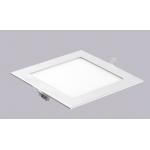 Šviestuvas LED 3W, IP20, 230V, įleidžiamas, kvadratinis, baltas, matinis, 195lm, 3500K, d85x85x22mm, PTNC 2446