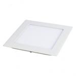 Šviestuvas LED 3W, IP20, 230V, įleidžiamas, kvadratinis, baltas, matinis, 195lm, 4500K, d85x85x22mm, PTNC 2445