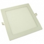 Šviestuvas LED 6W, IP20, 230V, įleidžiamas, kvadratinis, baltas, matinis, 390lm, 4500K, d120x120x22mm, PTNC 2448