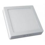 Šviestuvas LED 7W, IP20, 230V, paviršinis, kvadratinis, baltas, matinis, 560lm, 4500K, MATIS, GTV LD-MAN07W-NB