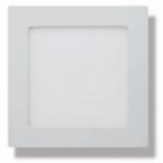 Šviestuvas LED 7W, IP54, 230V, įleidžiamas, kvadratinis, baltas, matinis, 560lm, 4500K, MATIS, GTV LD-MAW07W-NB