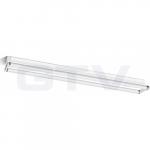 Šviestuvas LED T8/G13, 2x22W, IP20, paviršinis, atviras, 150cm, vienpusio pajungimo, siauras, GTV OS-OSL2150S-00 Industrial light fixtures