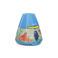 Šviestuvas Philips 2 w 1 71769/90/16 Finding Dory, LED, Blue Desktop lamps