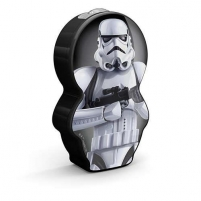 Šviestuvas Philips 71767/97/16 StormTrooper, LED, Black Desktop lamps