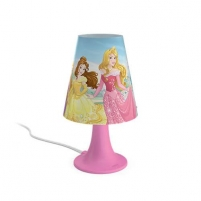 Šviestuvas Philips 71795/28/16 Princess, LED, Pink Galda lampas