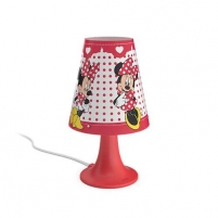 Šviestuvas Philips 71795/31/16 Minnie Mouse, LED, White Galda lampas