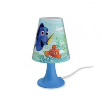 Šviestuvas Philips 71795/90/16 Finding Dory, LED, Blue Desktop lamps