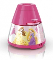 Šviestuvas Philips Disney 2 w 1 71769/28/16 Princess, LED, Pink